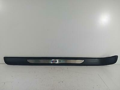 2008 BMW M3 SERIES E93 Convertible Left Inner Side Step Sill Trim Panel 241