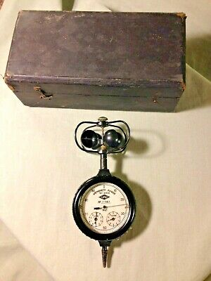 Soviet Anemonetor In Box ( Tells Wind Speed) C.1962