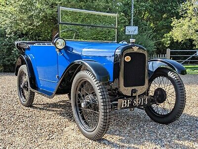 1924 Austin 7 Chummy original engine and gearbox. Simply beautiful.