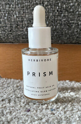 Herbivore Prism 12% AHA 3% BHA Exfoliating Glow Potion 10ml - Tested Once