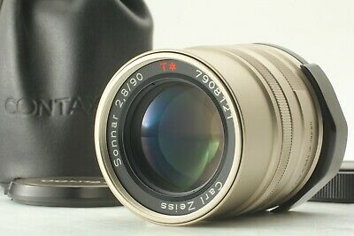【MINT】 Contax Carl Zeiss Sonnar T* 90mm f/ 2.8 Lens for G1 G2 from JAPAN T110