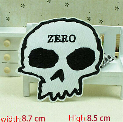 Fashion Skull Embroidered Iron/Sew on Patches/Badge Applique Motif DIY Badges 54