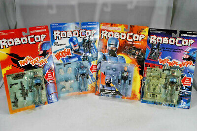 1993 Toy Island - 4x  Robocop - Action Figure Lot  - Ladenfund MOC
