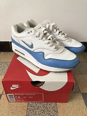 nike air max 1 jewel University Blue Taille 40,5 Eur 7,5 US