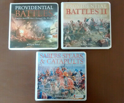 William Potter Providential Battles I & II, Sabers Spears & Catapults CDs