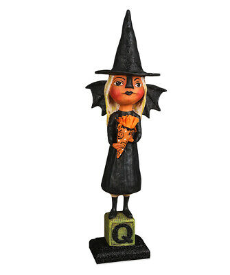 Bethany Lowe Halloween Witchy Bat Girl HH9216 New 2020 Ships 6/10 Debra Schoch