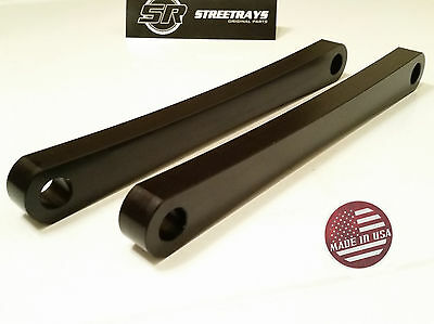 [SR] FOR Honda Shadow VT 750 Hard Tail Lowering Struts Solid Strut Kit BLACK