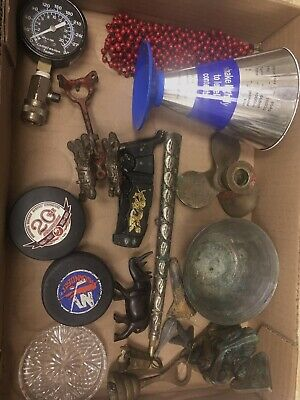 Junk Drawer Lot Estate Vintage, Cool Old Stuff