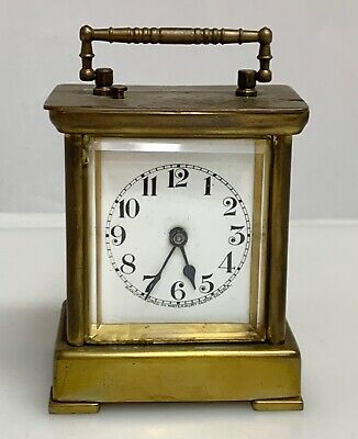 Vintage Waterbury Carriage Clock parts or repair   -   80071
