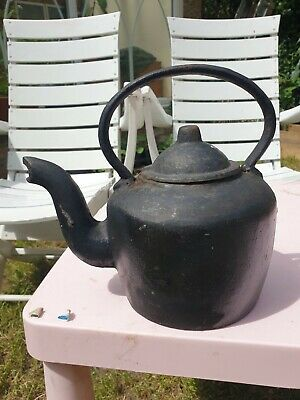 cast iron kettle vintage
