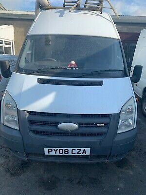Ford Transit Jumbo Van White Long T100 2008