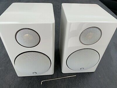 Monitor Audio Silver Radius 90 Main/ Stereo Speakers - White (pair)