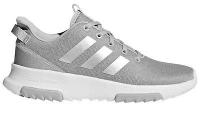 ADIDAS CF Racer Junior Girls Trainers Grey Size UK 5.5 US 6C  *REFCRS94