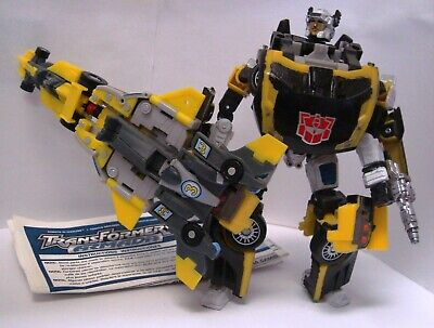 Transformers Armada Mirage Dirtboss Downshift Skyboom 100% Complete + Manual