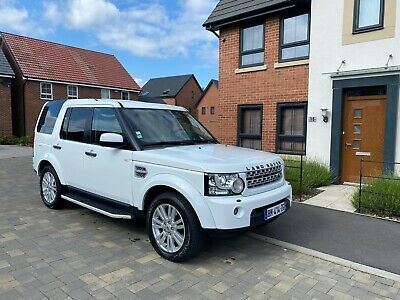 2011 Left Hand Drive Land Rover Discovery 4 SDV6 Fully Loaded HSE White Mot LHD