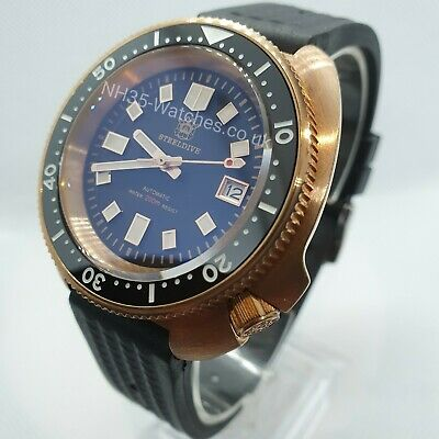 Uk Bronze Steeldive Sd1970 'Captain Willard' Automatic Seiko Nh35, 200M, Turtle