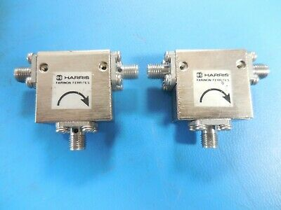 Harris Farinon 345-0026-01 RF Microwave Isolator (Lot of 2)