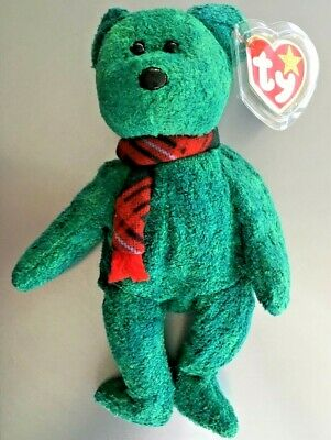 Wallace The Bear #4264 Beanie Baby Mwmts