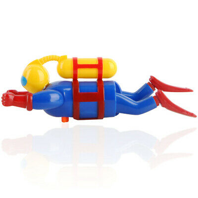 Bath Toy Funny Swimming Wind Up Diver Figurine  Floating Pool Accessories