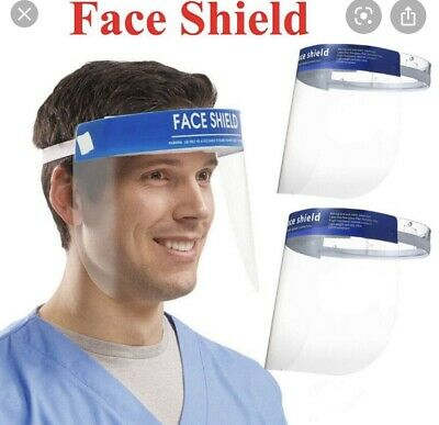 Safety Full Face Shield Clear Protector Work Industry Dental Anti-Fog 1 Pc