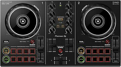 Pioneer DDJ-200 Musik Mixer DJ-Controller Smart Equipment Phrasensynch schwarz