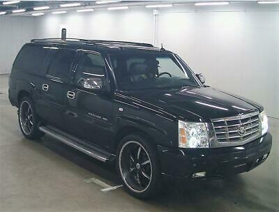 Fresh Import 2008 Cadillac Escalade Esv Long Wheel Base 4Wd 6.0 Petrol Black Lhd