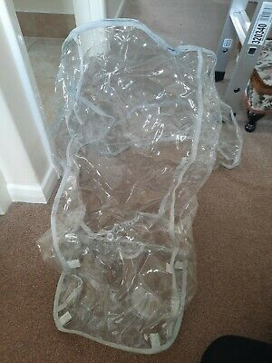 Clear Official Quinny Buzz Rain Coat/Rain Cover Uk For Puschair. Brand New