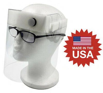 NEW Full Face Shield Medical, Eye Safety Protection PPE, Ships Fast! MADE IN USA