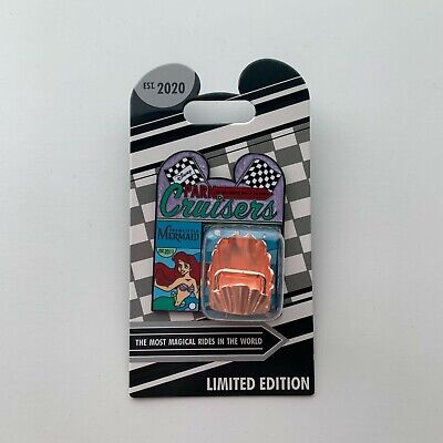 DISNEY Ariel Park Cruisers Pin THE LITTLE MERMAID Limited Edition LE 2000
