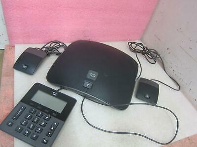 Cisco UC CP-8831 Conference Phone w/ Keypad Controller + 2x MIC+