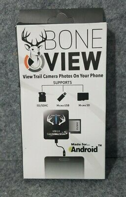 BoneView Trail Camera Viewer SD Card Reader for Android Phones
