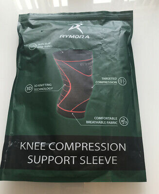 Rymora knee compression support sleeve For Women Size 2xl, New