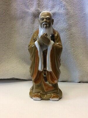 Vintage Ceramic Chinese Figurine. Chinese Man.