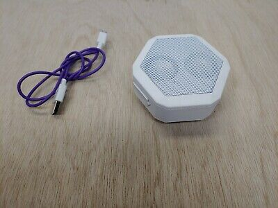 Boombotix Boombot Rex Wireless Ultra portable Bluetooth Speaker Pacific White E3