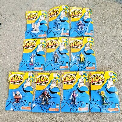 The Tick Collectible Figures Set of 10 Brand New in Box
