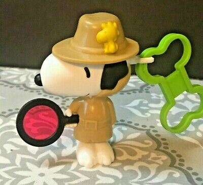 2018 McDonalds Happy Meal Toy Snoopy Detective