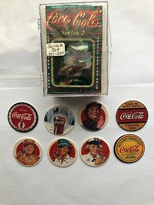 complete set of 100 #101-200 1994 Collect A Card Coca Cola Series 2