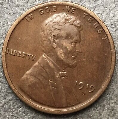 1914-P Lincoln Wheat Cent in Very Good VG Condition ~ $20 ORDERS SHIP FREE!