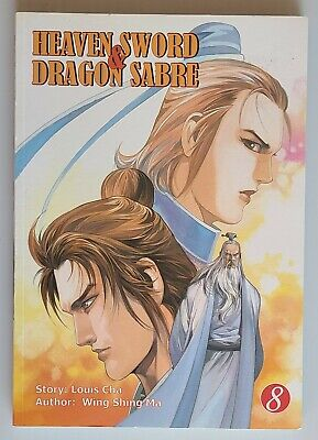 Heaven Sword And Dragon Saber Chinese Drama Dvd With Good English