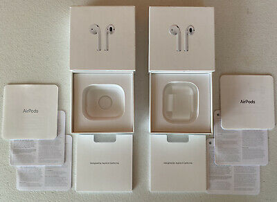 Apple Airpods A1523 A1722 A1602 Ios Wireless In Ear Earphones