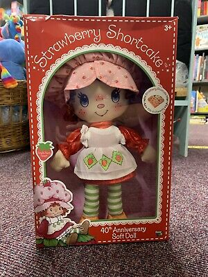 Strawberry Shortcake 40th Anniversary Rag Doll Repro Of The Original From 1980/'s