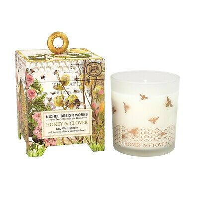 Victorian Trading Co Portus Cale  Island Flora Hand Made Candle 6F