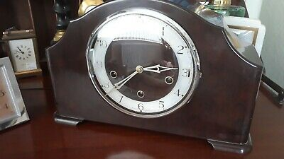 Rare Vintage Smith's Enfield Bakelite Westminster Chime Mantle Clock