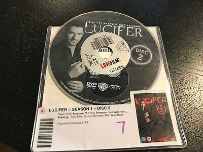 DISC ONLY - Lucifer - Season 1 DVD   ***** DISC 2 ONLY ****