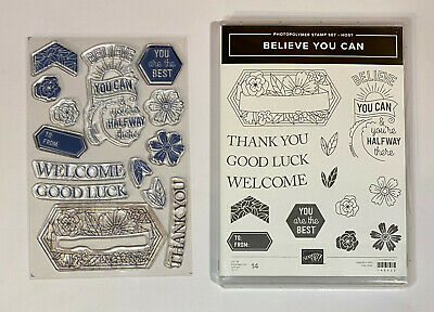 NEW Stampin up All About Sugar Retired Set of 10 photopolymer