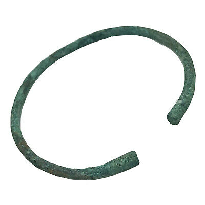 Ancient Norse Viking Torc Bracelet - Ca 800-1100 AD - Brass Artifact Antiquity G