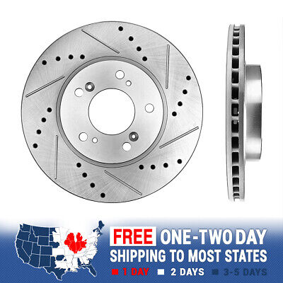 Front Brake Calipers And Rotors /& Pads For Integra Type R CRV Prelude Odyssey