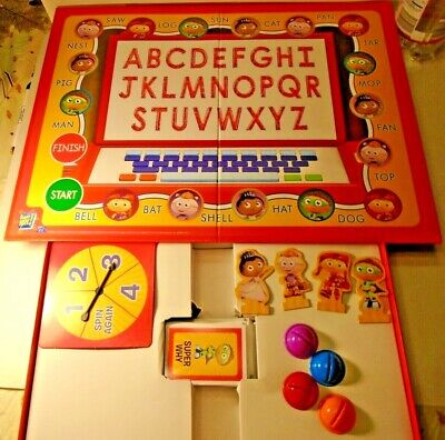 Super Why Abc Letter Game By University Games Educational Board Card Game 9 25 Picclick