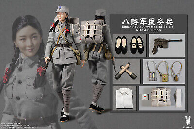 1//6 Scale Very Cool Figures Eighth Route Female Medic Medic Pouch