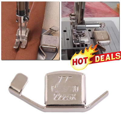 Silver Magnet Seam Guide Sewing Machine Foot For Domestic Craft S5Z9 C3C1